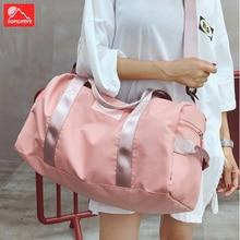 Fitness Sport Shoulder Bag Women Men Training Yoga Bags Sac De Sport Outdoor Travel Crossbody Bag Pink Handbag Unisex Gym Bag стоимость