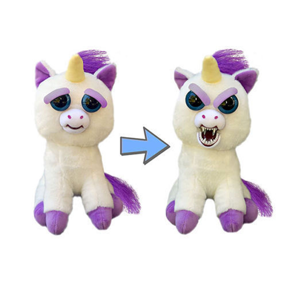 Change Face Feisty Pets Plush Toys With Funny Expression Stuffed Animal Cotton Free Shipping free shipping plush tongue funny cat cat expression a birthday present love cats the gifts of men and women