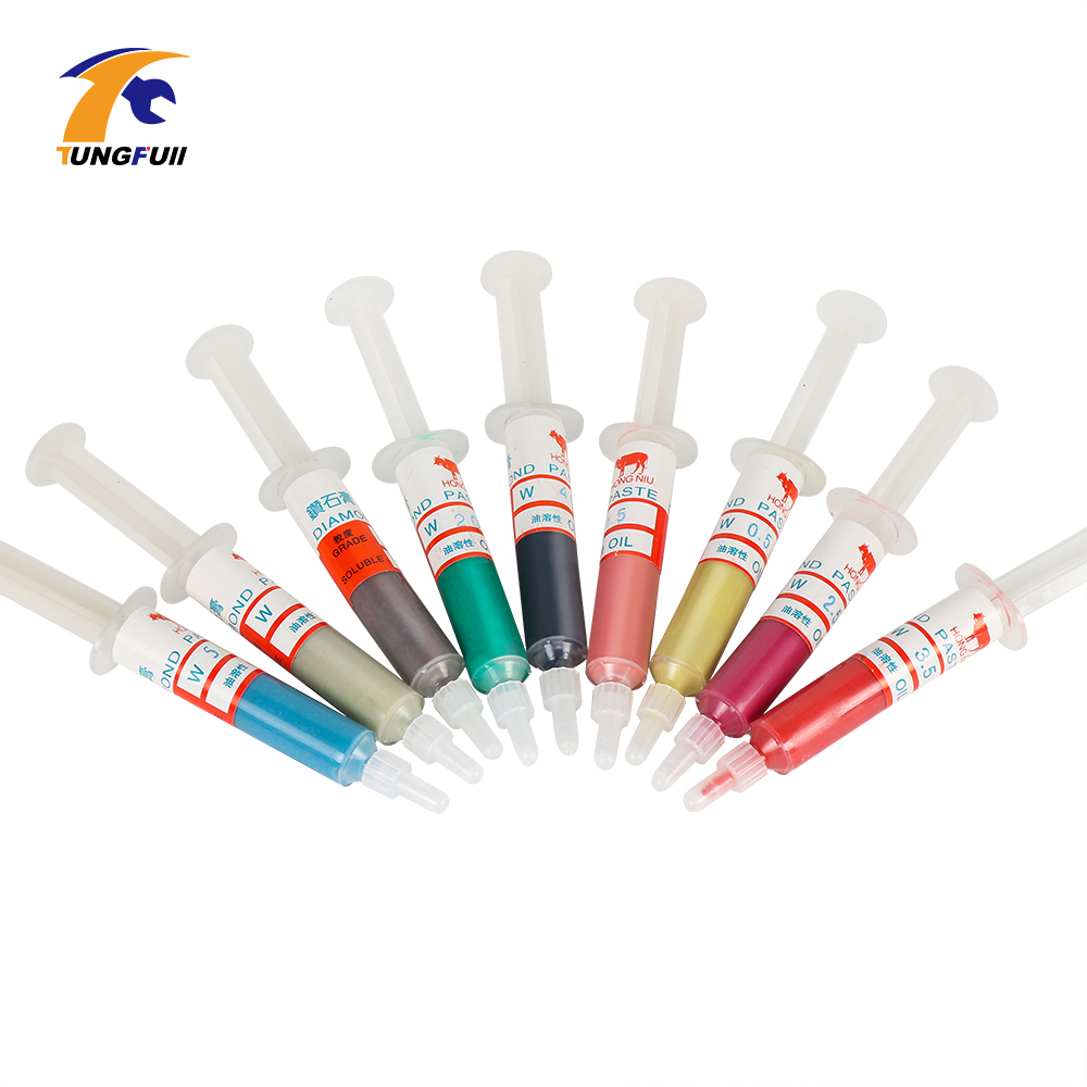 High Quantity Diamond Polishing Lapping Paste Compound Syringes 0.5 ~5 Micron Glass Metal Grinding Polishing AbrasIve Tools
