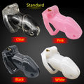 Free shipping Standard Cage The 100% Biosourced resin chastity device Sex Toys For Man Anal Plug Butt Plug Cock RingAdult CD076