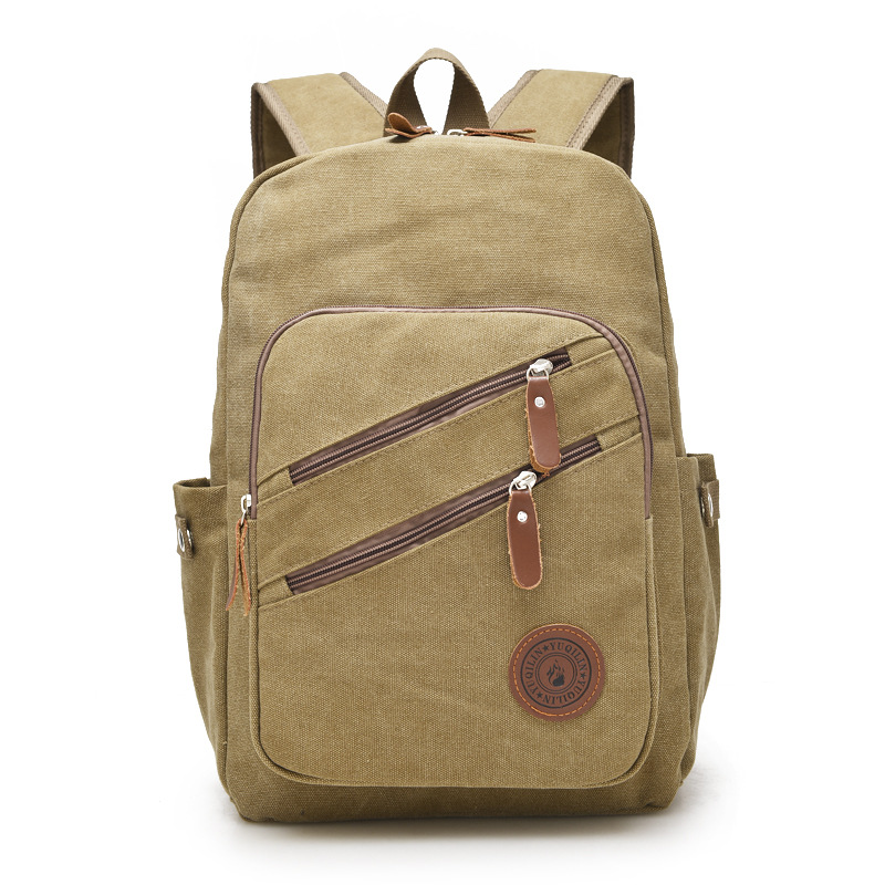 Man's Canvas Backpack Travel Schoolbag Male Backpack Men Large Capacity Rucksack Shoulder School Bag Mochila Escolar Masculina fhit a hit in human cancers