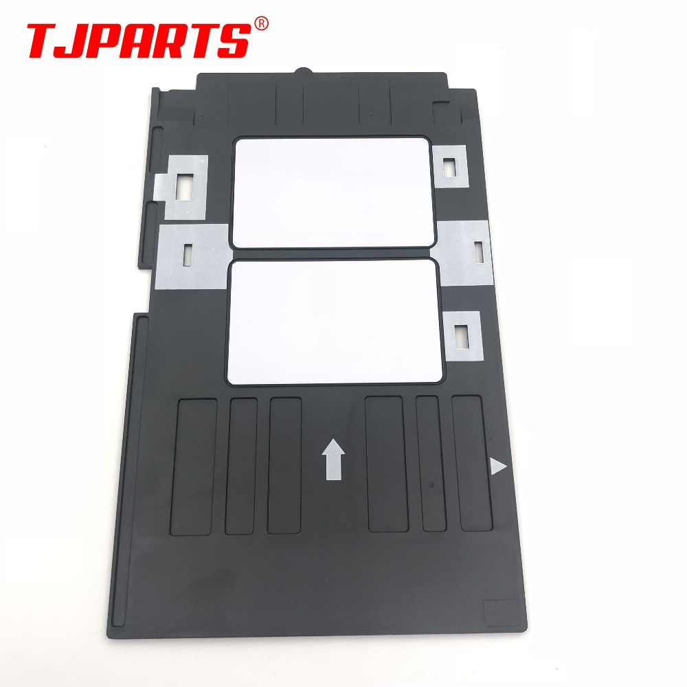 Pvc Id Card Tray Plastic Card Printing Tray For Epson R260 R265 R270 R280 R290 R380 R390 Rx680 T50 T60 A50 P50 L800 L801 R330 High Safety Printer Parts Printer Supplies