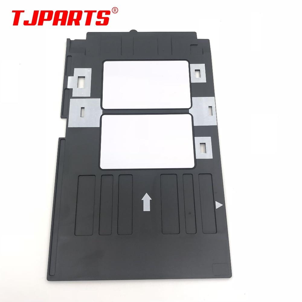 Pvc Id Card Tray Plastic Card Printing Tray For Epson R260 R265 R270 R280 R290 R380 R390 Rx680 T50 T60 A50 P50 L800 L801 R330 High Safety Office Electronics