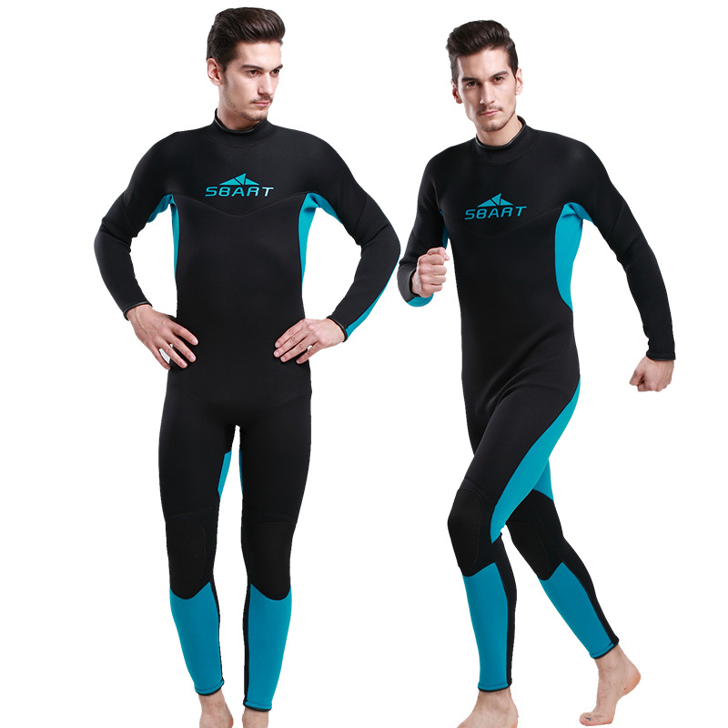 SBART 3mm Neoprene Dive Wetsuit For Men Spearfishing Wet Suit Surf Diving Equipment Split Suits Spear Fishing S-XXL блузка quelle ajc 81495946