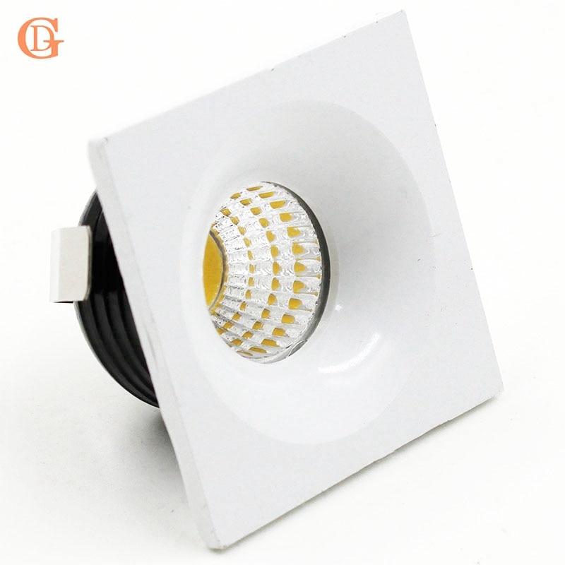 4 gab. 3W COB Mini Led Spot gaismas Mini Dimmable Led Downlight ar - Iekštelpu apgaismojums