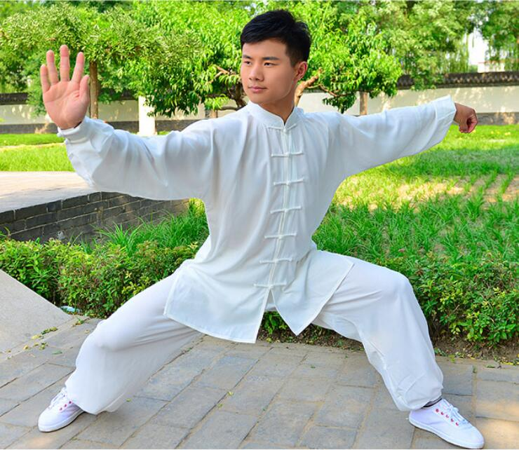 ФОТО (10 colors) Hot sales! CottonSilk Tai Chi clothes men women child kung fu artes marciales uniform martial arts uniforms sets