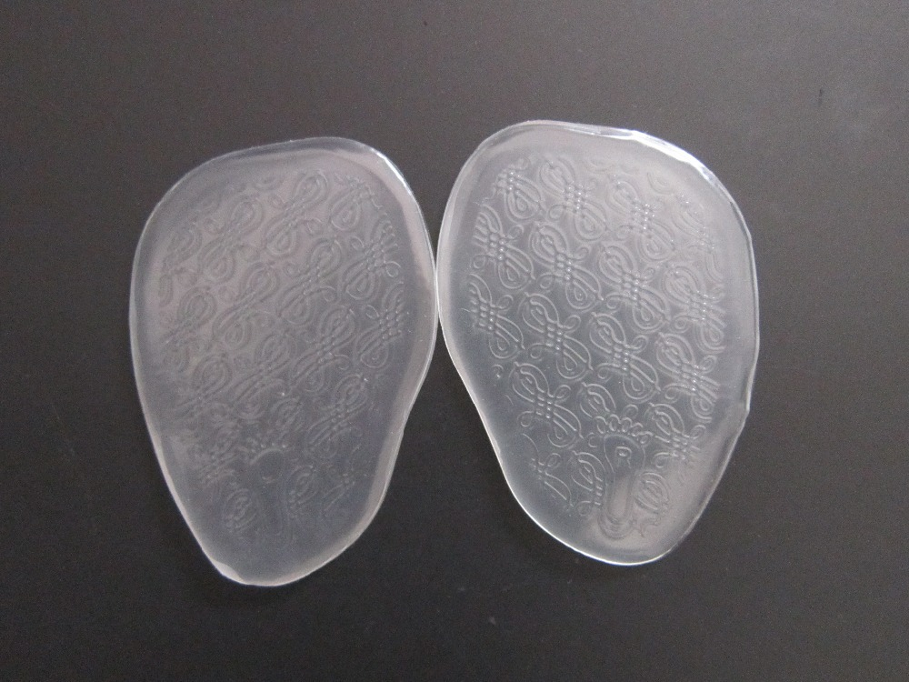 one pair New soft gel cushion for ladies shoes forefoot pain relief high quality Metatarsal Sore silica sole free shipping soft laser healthy natural product pain relief system home lasers