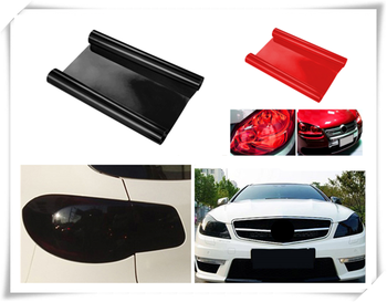 Car personality modification headlight taillight fog light color film for Volkswagen vw Touran 1.4 Fox 1.2 Touareg2 GolfA5 GT image