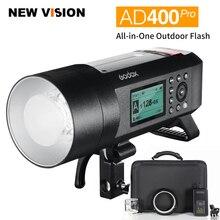 Đèn Flash Godox AD400 Pro Witstro Toàn Ngoài Trời Flash AD400Pro Pin Li on TTL HSS Có Tích Hợp 2.4G Không Dây X Hệ Thống