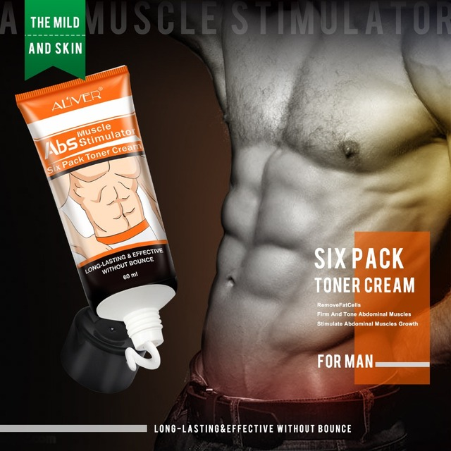 Abdominal Muscle Cream Hot Cream Anti-Cellulite Slimming Creams Belly Muscle Tightening Cream Fat Burner Weight Loss Treatment 2