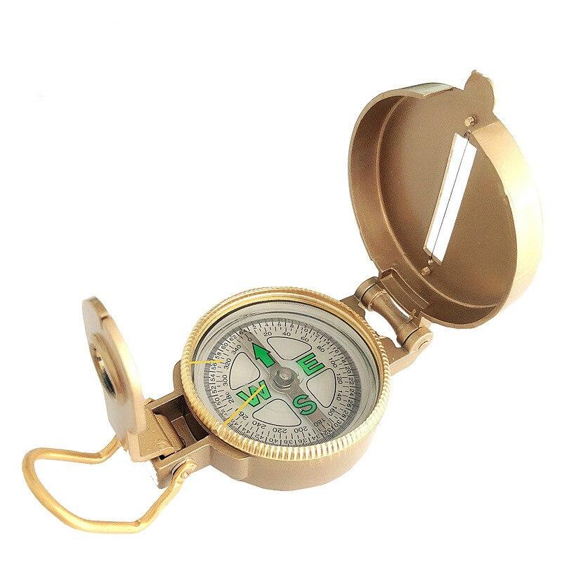 Открытый кемпинг инструмент компаса металла портативный объектив Альпинизм мини тактические часы с картой инструмент цифровой античный м...
