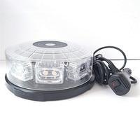 16LED Car Auto LED BEACON Emergency Recovery Flashing Warning Strobe Lights Lightbar Amber Forklift lighthouse modification