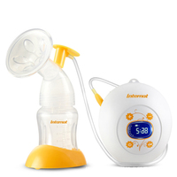 Intelligent Electric Breast Pump Memory Function LCD Touch Medical Silicone Mother Milking Breast Pump