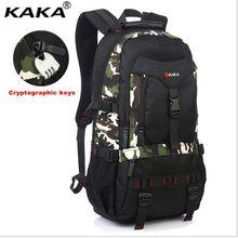Kaka marque haute qualité à Oxford en 2016 grand cartable camouflage sac à dos sac à dos capacité ordinateur kyste