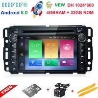 7 1024*600 Octa Core Android 8.0 4G+32G Special Car DVD for GMC Acadia 2009 2011 & GMC Denali 2007 2012 & GMC Yukon 2007 2012