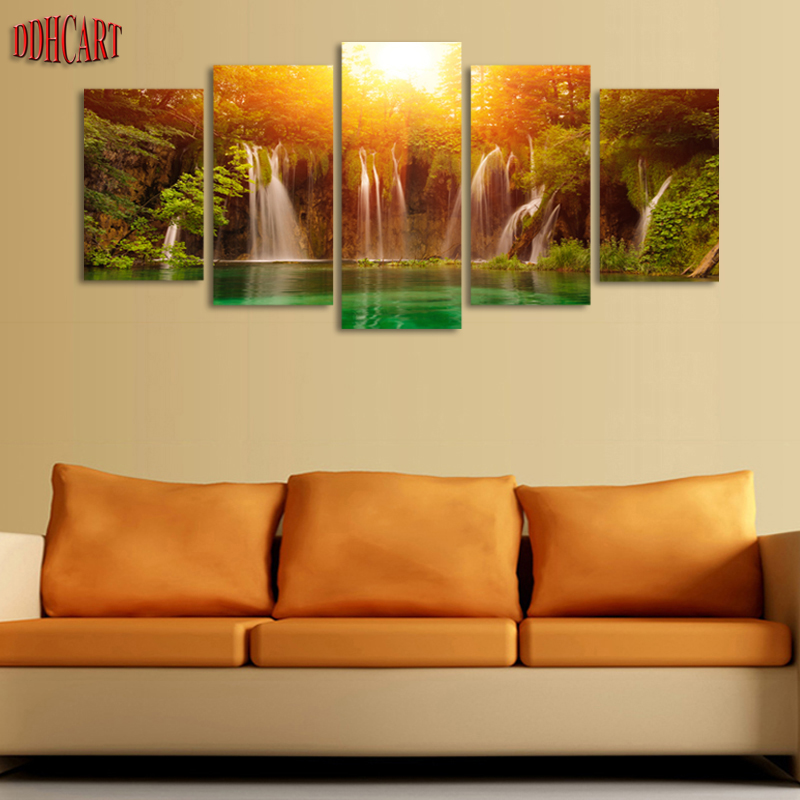 5 Piece Canvas Art Canvas Prints Painting Picture Wall Art
