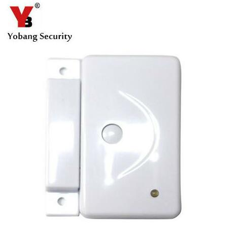 цена Yobang Security 433Mhz Wireless Door Sensor Door/Window Magnetic Sensor For Video Door Phone/Wifi Doorbell/GSM Alarm etc.