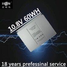 """HSW 10,8 v 60Wh ноутбук Батарея A1175 MA348 для Apple MacBook Pro 1"""" A1150 A1260 MA463 MA464 MA600 MA601 MA610 MA609 Батарея"""
