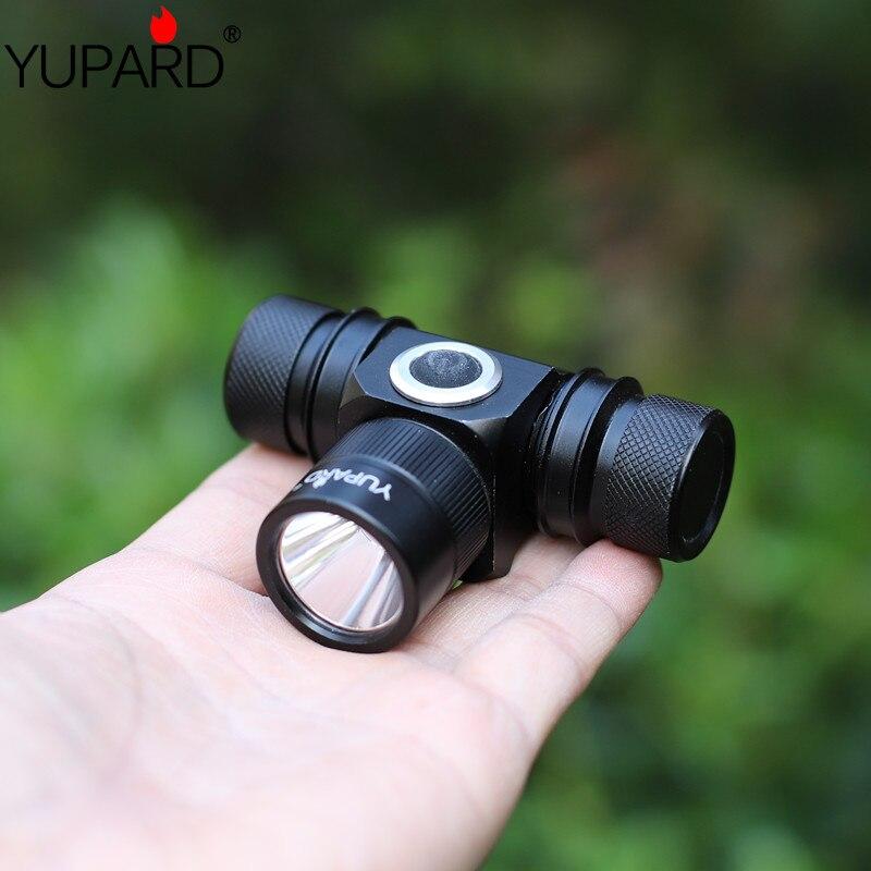 ツ)_/¯Yupard XM-L2 LED T6 LED faro recargable 18650 batería antorcha ...