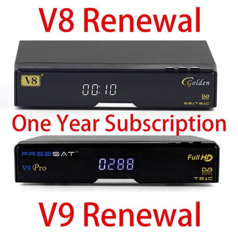 Scatola TV Singapore Rinnovo Abbonamento Per Freesat V7 V8 Du0027oro V9 Pro V8  Angelo