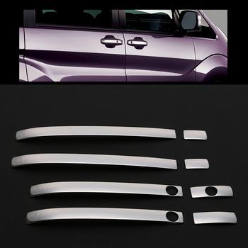 JY SUS304 Stainlless stali nierdzewnej 8 sztuk zewnętrzna drzwi osłona klamki wykończenia Car styling naklejki akcesoria dla HONDA STEPWGN RP1 4 2015 tanie i dobre opinie