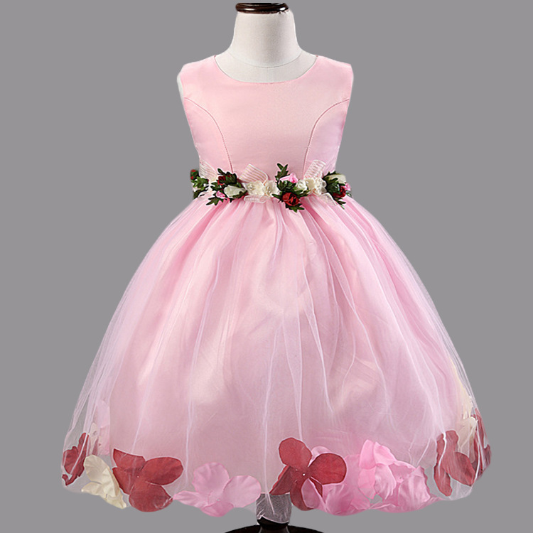 Girls party dress flower girl wedding - Wedding Party Dress For 2 3 4 5 10 11 Years Girl Dress In Dresses From