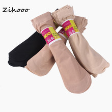 Zihooo summer бархатные шелк носок = прозрачный пара носки женские тонкий