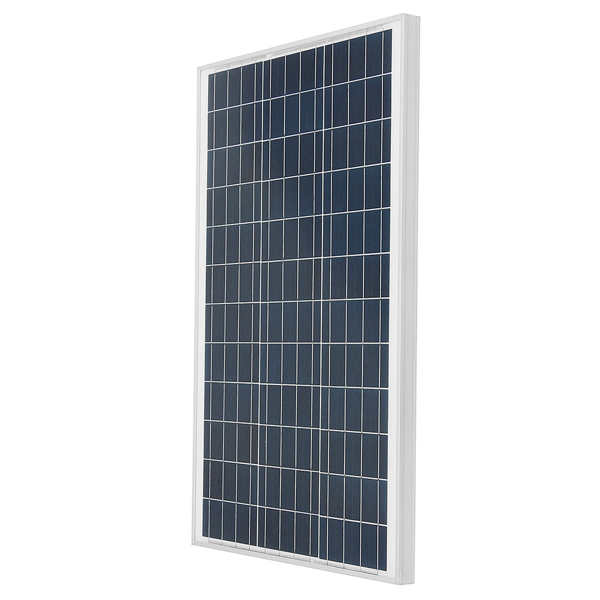 LEORY 60w 18v Solar Panel With Glass Bearing Plate Polycrystalline Silicon Solar System Supply Suitable For Car Battery