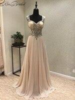 Nowy Projekt Długie Prom Dresses 2018 Sweetheart Cap Sleeve Piętro Długość Frezowanie Szyfonu Suknie Wieczorowe Vestido de festa longo