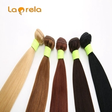 8A Brazilian 3 Remy Hair  Bundles Blond 100% Human Hair Above 110g For Sale Laprela Hair Products Mixed Length Silky and Soft