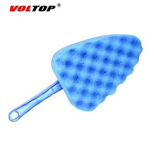 Image 5 - VOLTOP herramienta de limpieza lavado de escobillas coche accesorios onda Triangular de esponja cepillo casa Oficina Auto de absorción de agua