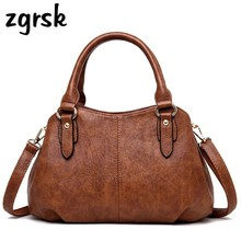 For Female Handbags Luxury Satchel Leather Women Designer High Quality Red Fashion Bags Sac A Main