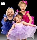 Girls Ballet Dance Clothing Professional Stage Costumes Pettiskirt Cake Skirt Bright Color Performance Clothing