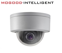 Original DS 2DE3304W DE 3MP 3 Mini PTZ CCTV IP Camera 2 8mm 12mm 4X Zoom