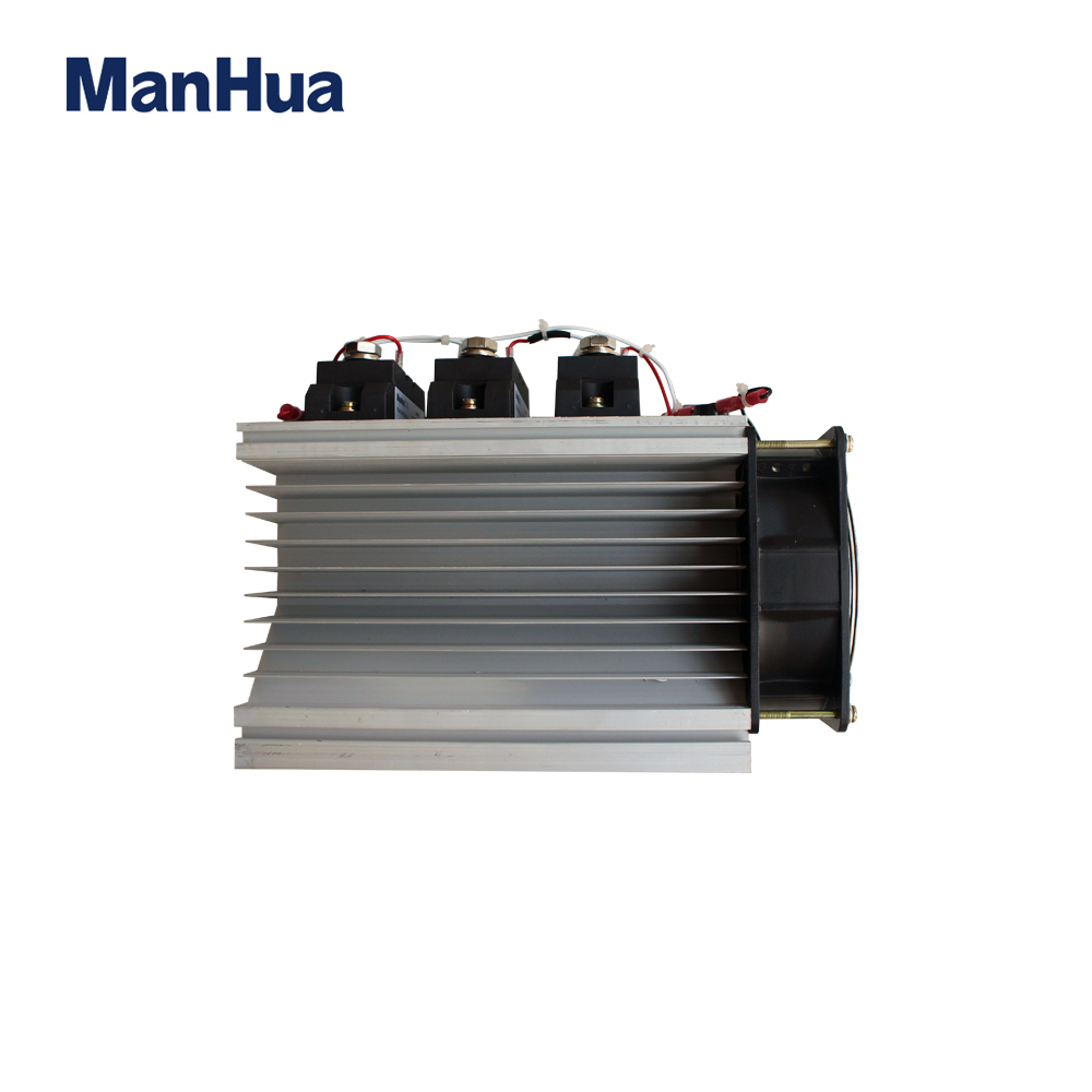 цена на ManHua Three Phase DC control 90-250VAC SSR Relay With CE MH3200Z Solid State Relay