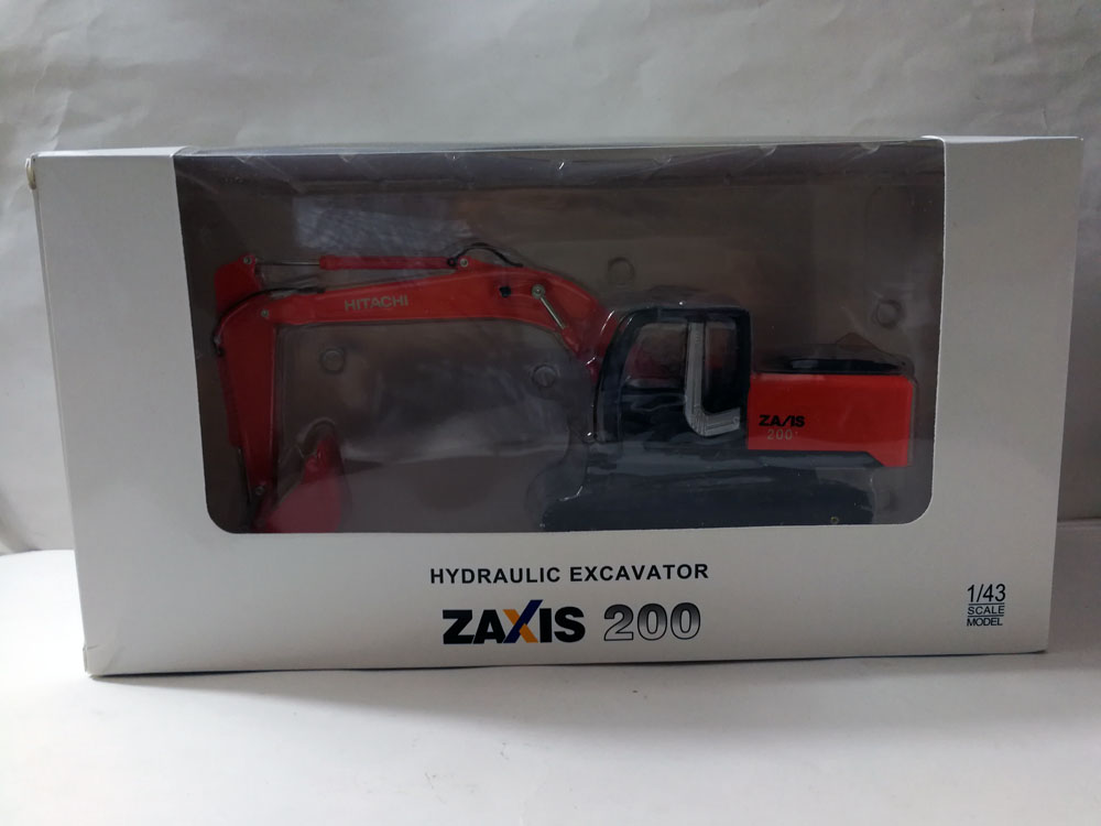 1:43 HITACHI ZAXIS 200 экскаватор игрушка