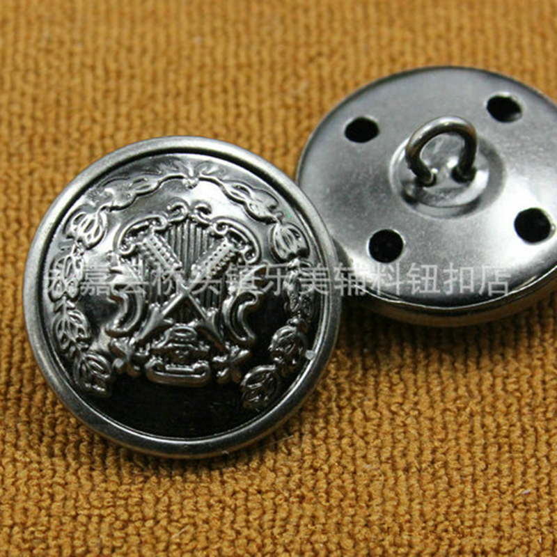Motivated 10pcs/lots Sewing Accessories High-grade Retro Copper Buttons Used For Jean Pant Decorative Buckle Matching In Colour Jacket Coat