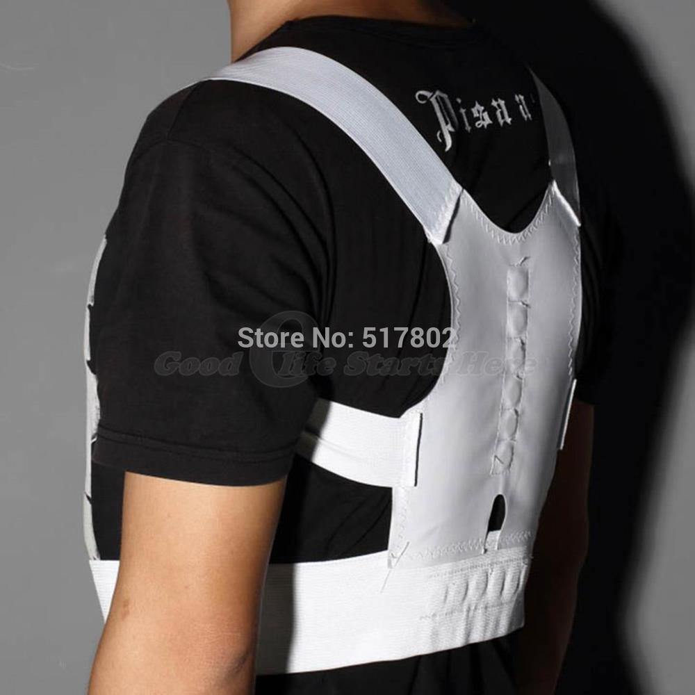 1 pcs Bulder Magnetic Body Back backpack Pain Posture Supportelt Brace Sho Corrector Free Shipping Posture Corrector Hot Sale