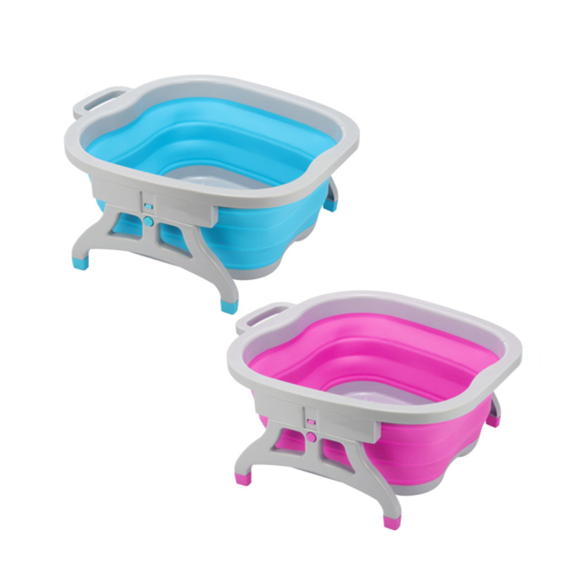 Foldable Foot Bucket Tub Portable Foot Spa Buckets Washing Clothes ...