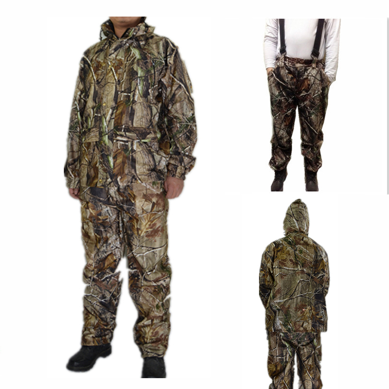 New MULTICAM Uniform Bionic Camouflage Tactical Suit Plus Size Sniper Suit Hunting Waterproof Clothing L 4XL