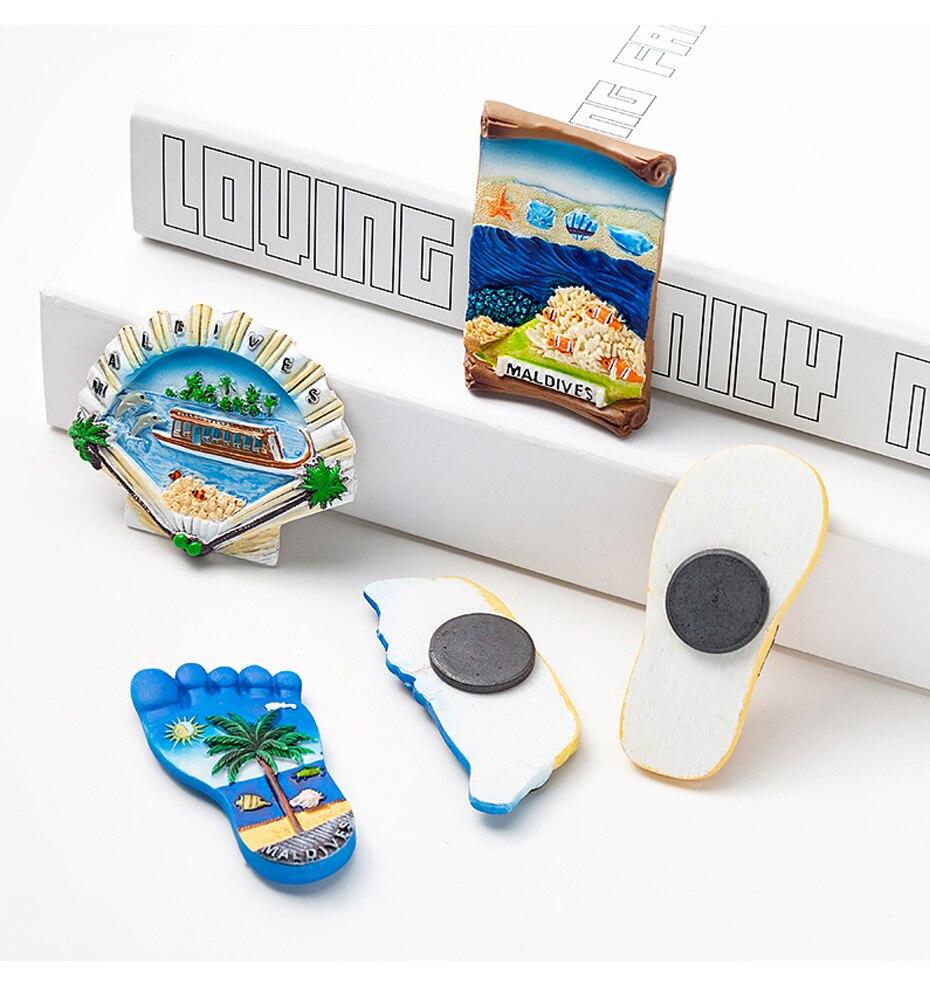 Seascape Ocean Fridge Magnet Souvenir 04