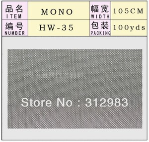 Image 2 - 1 Yard  Mono filament 3 Size net foundation for wig making toupee mono lace wig wig hair accessories accessory weaving tools DIY