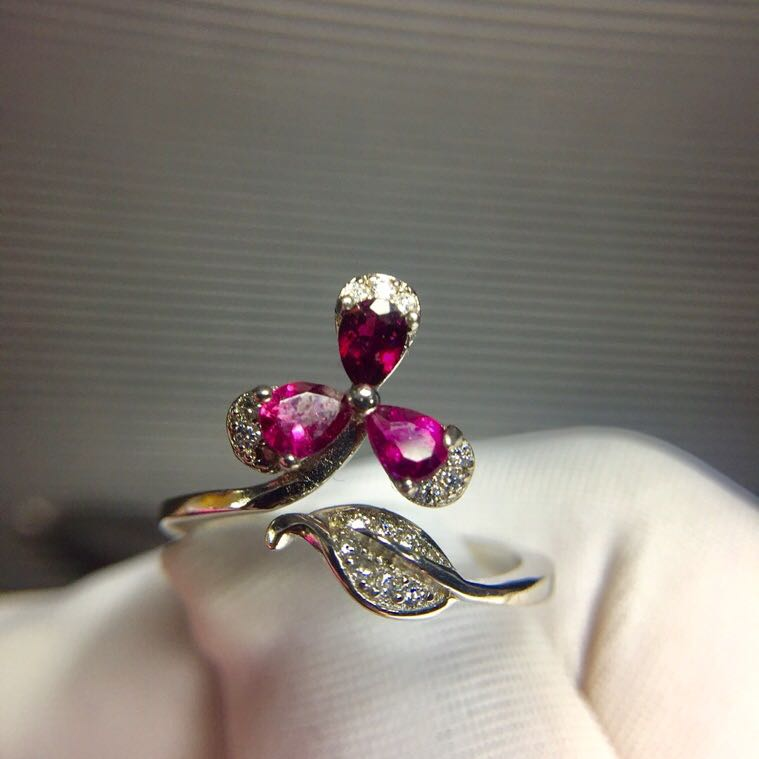 Flower Ring Wedding Ring Tourmaline ring Natural real tourmaline Free shipping 925 sterling silver Fine Ring hot sell new free shipping 925 sterling silver soldier boluomiduo theheart sutra scripture ring mens