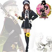 Flut Cosplay Kleid Schwert Taguchi Tigers Rückzug Rolle Spielen Kleid Kleidung Polizei Uniformen Versuchung Bühne Kleidung