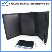 On Sale Foldable Solar Charger 7W 10.5W 14W PowerGreen Solar Power Bank Mini Panel Solar Power Bag for Mobile Phone