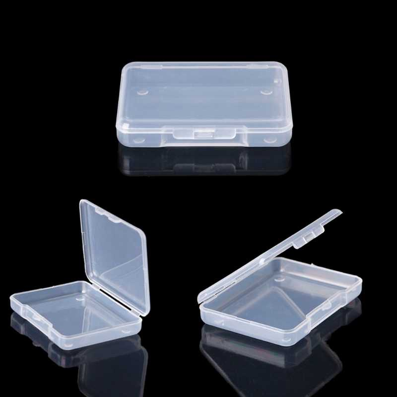 Transparent plastic box  Storage Collections Product packaging box dressing case Case