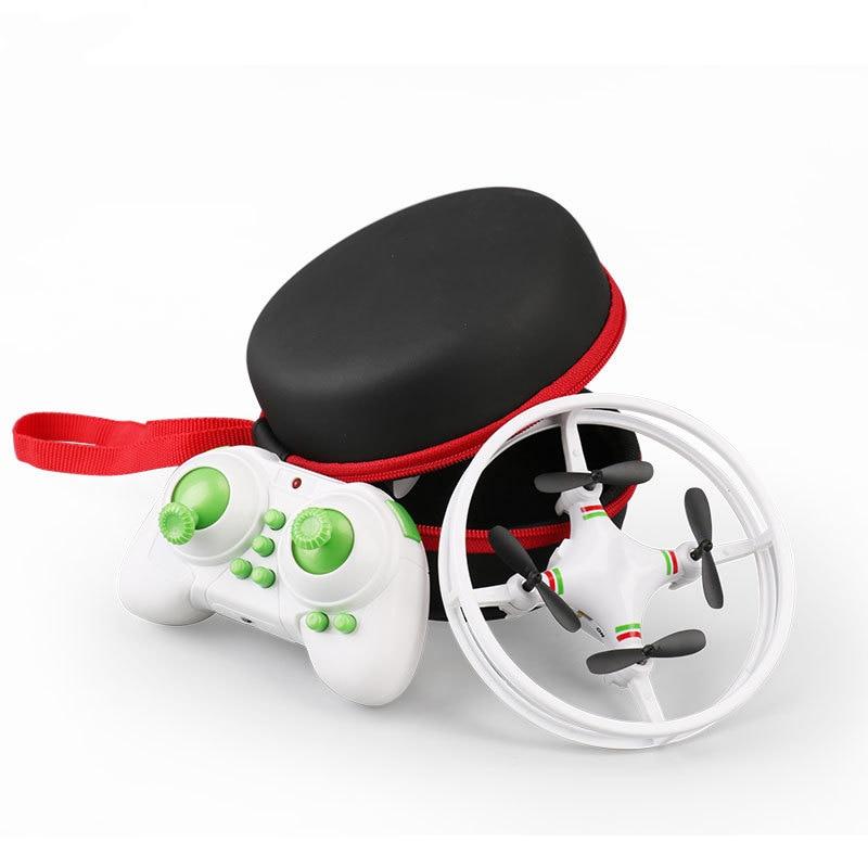Mini drone com controle remoto, modo sem cabeça rc quadcopter helicóptero 2.4g 6 axis gyro micro quadrocopter one-key brinquedos retorno