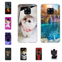 For Huawei Mate 20 Pro Cover Soft TPU LYA-L09 LYA-L29 Case Cute Patterned Bumper