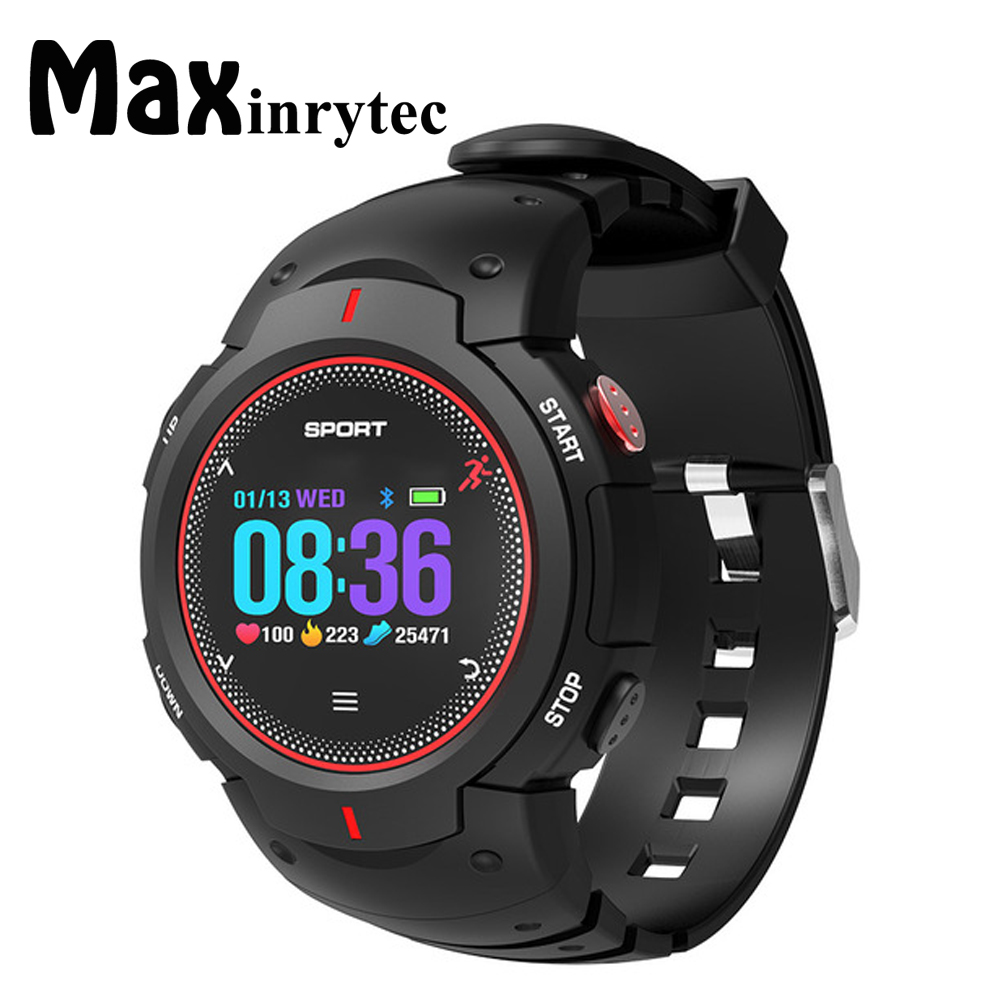 Maxinrytec F13 Smart Watch Waterproof IP68 Pedometer Heart Rate Monitor Multi Sport Smartwatch Watch Men for IOS Android 10pcs image