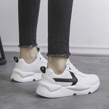 2018 New Style Thick Bottom Small White Shoes Women Korean Version of The Board Shoes Breathable Single Shoe Original Wind 5